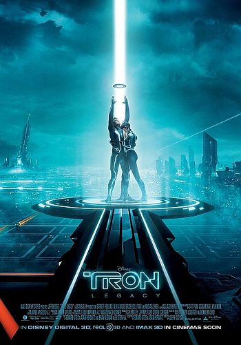 Tron%203D%20legacy%20movie%20poster Hard Rock Cafes Jumbo Combo