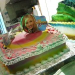09 hanna montana cake 150x150 Chinese Cheeseburger and Late Night Tacos