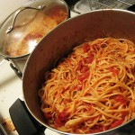 18 pots o pasta 150x150 Spaghetti Dinner Spectacular & Hot Kielbasa