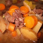 03 venison stew 150x150 Ikes first Thanksgiving