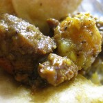 04 curry goat and potatoes 150x150 Curry Goat Roti