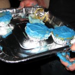 14 blue cupcakes 150x150 Fire and Ice Party
