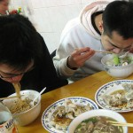 11 brian and jimmy slurp 150x150 Lan Zhou Hand Pulled Noodle