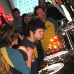 08 jeremy blowing out his candles 150x150 Hows Your News? Dinner & Screening party