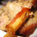 18 the meatloaf is wrapped in bacon 150x150 Hows Your News? Dinner & Screening party