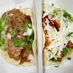 02 pork carnitas and fish tacos 150x150 Pinche Taqueria   Taqueria Time