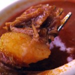 03 tomato pork and potato sauce for mofongo 150x150 El Castillo De Jagua   Mofongo, Ghosts & Tacos