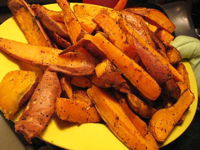 jodys sweet potato steak fries FLNL Sweet Potato Wedges