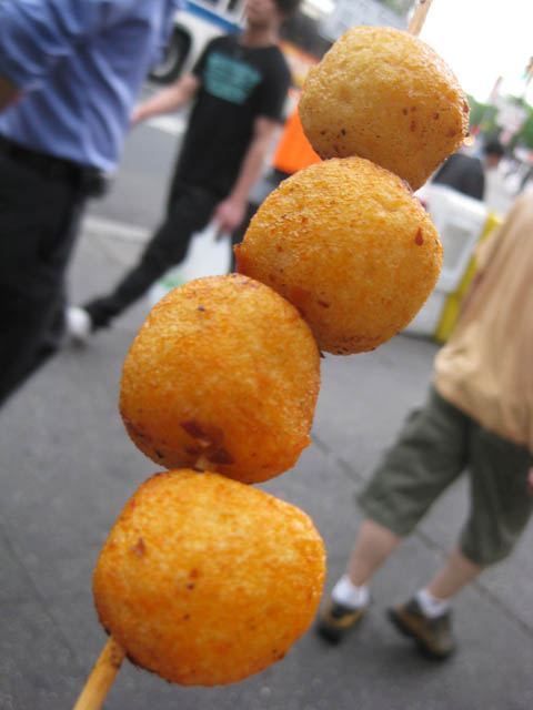 09 spicy fish balls on a stick me so hungry for Fish on a stick