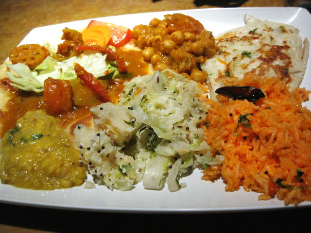 02 Tiffin Wallah buffet plate