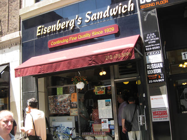 01 Eisenberg's Sandwich