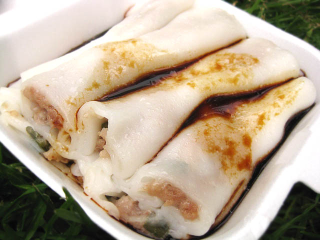 01 Pork Rice Noodle Roll Cheung Fun