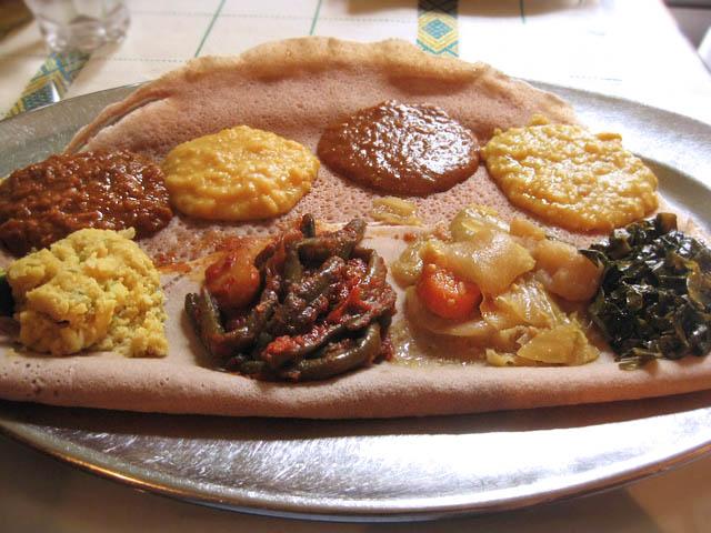 02 Meskerem Vegeterian Combo Meskerem Ethiopian Cuisine