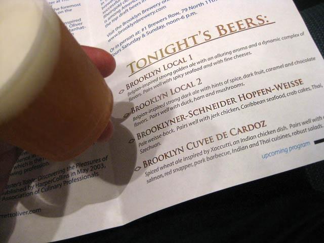 02 Tonight's Beers Program