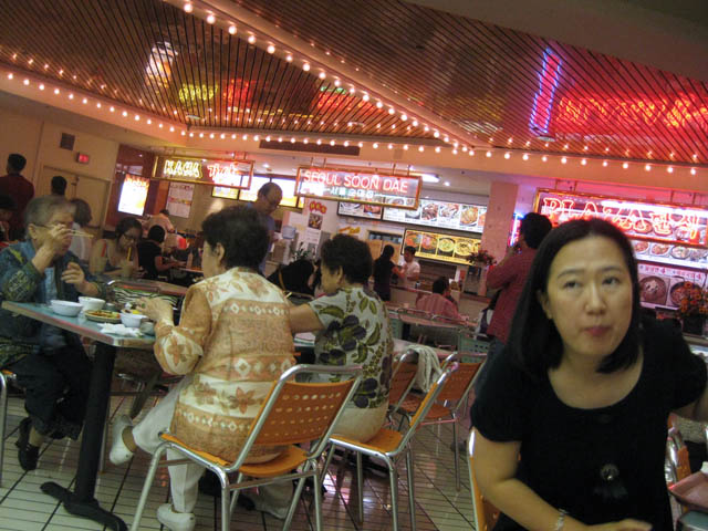 01 Koreantown Plaza food court