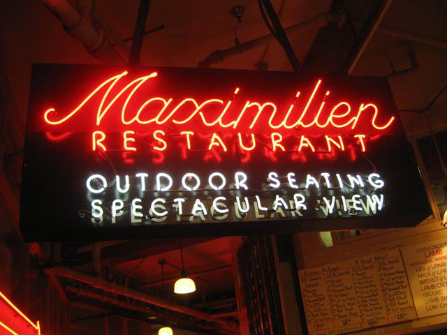 01 Maximilien Restaurant at Pike Place Market