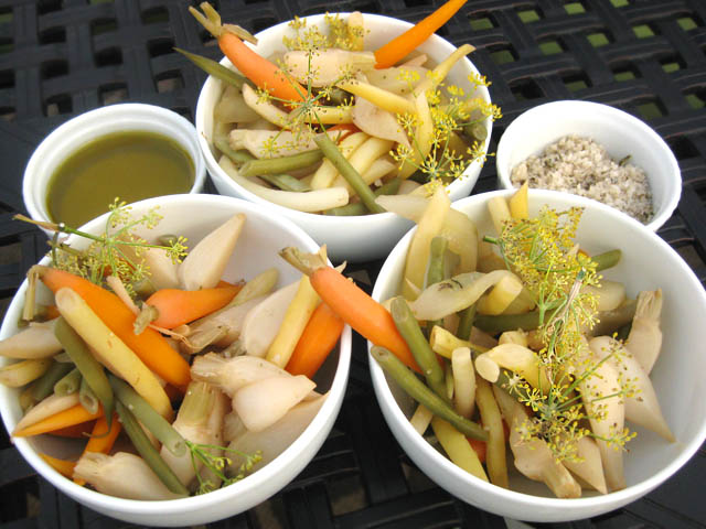 01 Pickled Vegetables