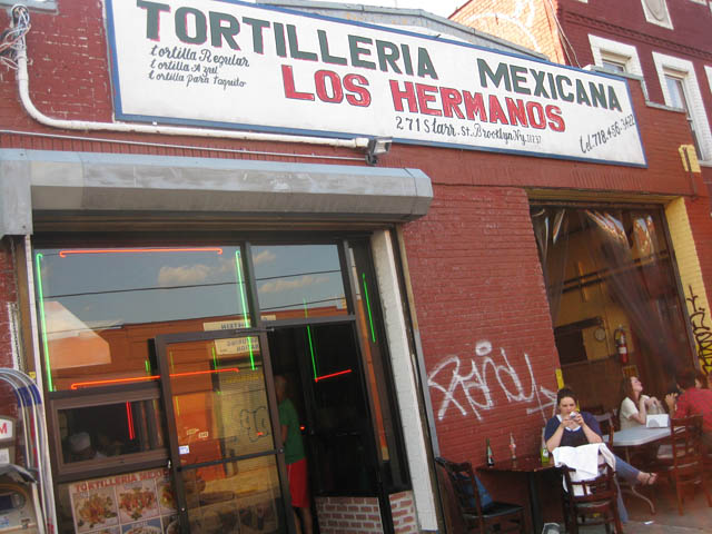 01 Tortilleria Mexicana Los Hermanos in Bushwick