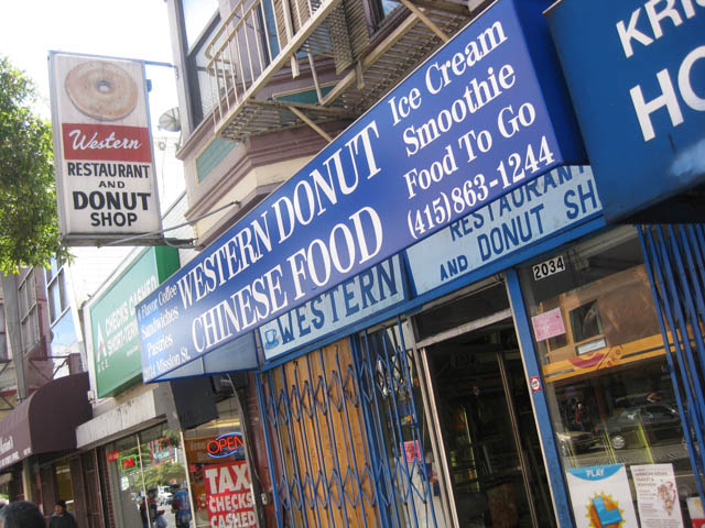 01 Western Restaurant and Donut Shop