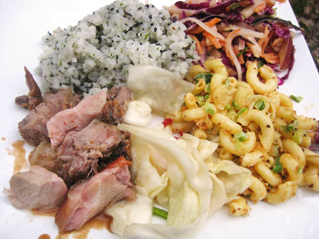 01 Whole Roast Pig Luau plate