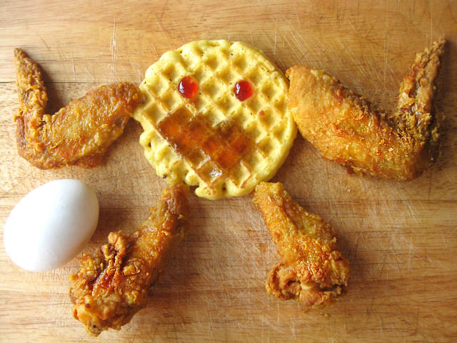 Chicken and Waffle Man