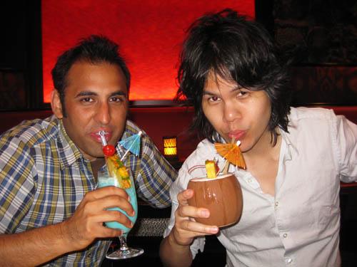 Pavan and me Tonga Room San Francisco