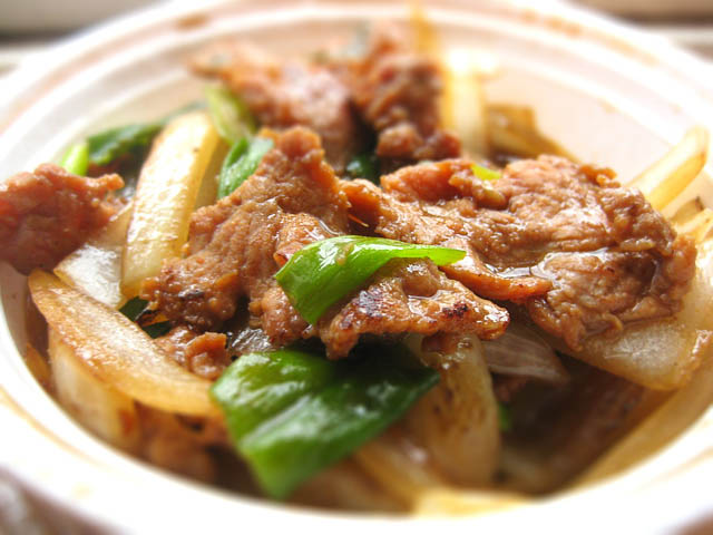 01 Mongolian Beef - Family Garden Chinese Restaurant