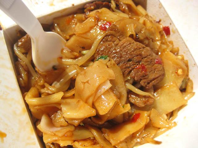 02 Beef Chow Fun - Wo Hop
