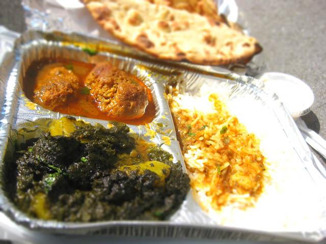 02 Chicken Kofta Meatballs & Aloo Palak - Lahori Kabab