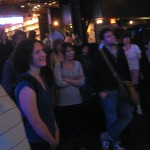 10 Ramen and Friends watching Michael Jackson live video 150x150 Brooklyn Bowl   Blue Ribbon Food