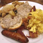 26 Breakfast Buffet plate