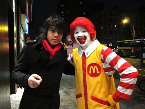 01 Jason Lam and Ronald McDonald