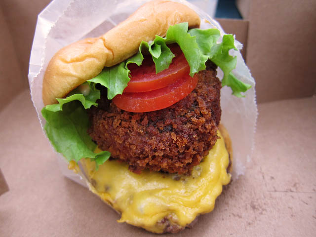 01 Shack Stack Burger - Shake Shack