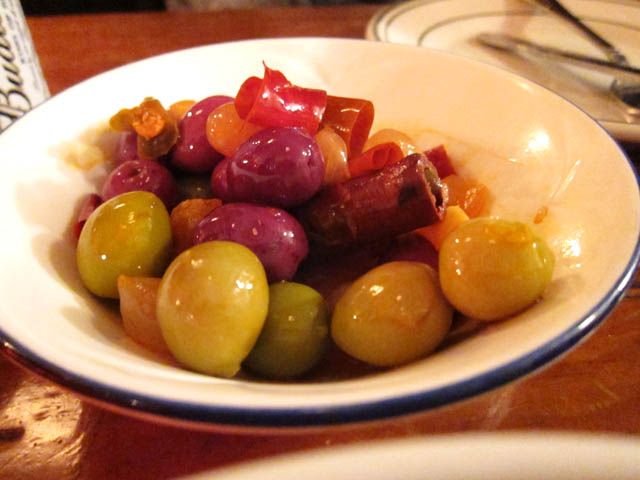 01 Spicy Mixed Olives - Roberta's