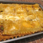03 Mexican Lasagna baked1 150x150 Vegetarian Mexican Lasagna and Christmas Dinner