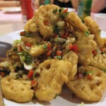04 Wok Roasted Lotus Roots w. Pepper Spiced Salt Famous Sichuan 150x150 Famous Sichuan / Quickly / Chinatown Ice Cream Factory