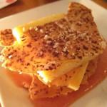 09 Tarta de Queso - Galacian Crema, Cacao Crisps, Guava Puree - Poco