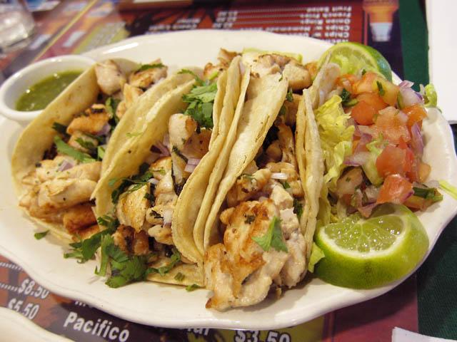 01 Chicken Tacos - Acapulco Deli & Restaurant