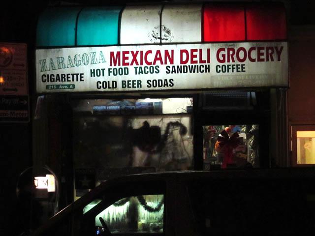 01 Zaragoza Mexican Deli Bodega