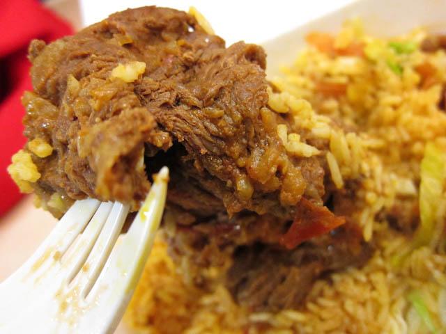 02 Chipmunk sized beef El Sabor Del Taco Trucks Stewed Beef Carne Guisada