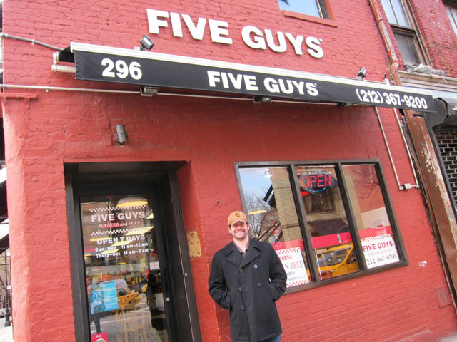 01 Five Guys on Bleeker