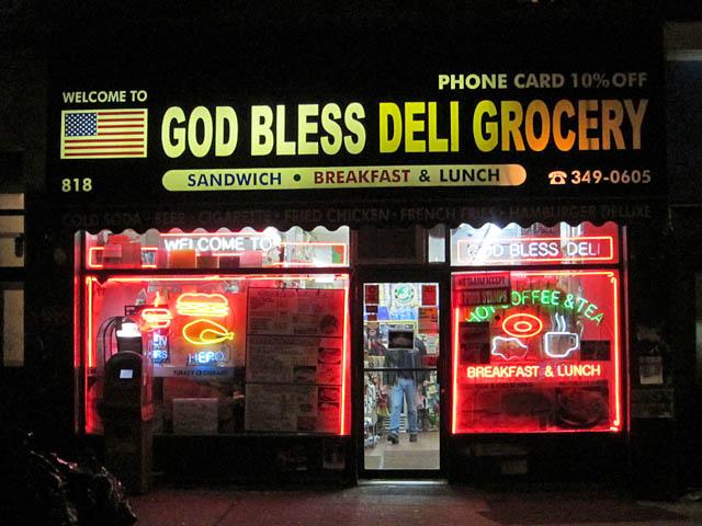01 God Bless Deli - Greenpoint Brooklyn