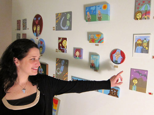 01 Janet Hicks and her art