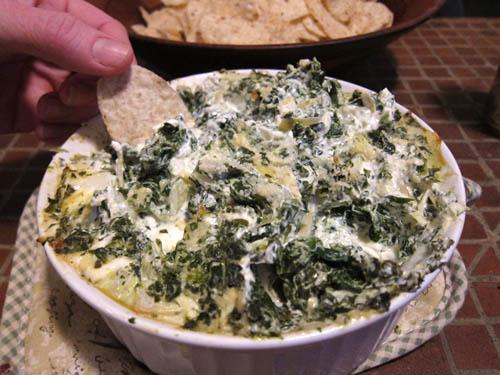 01 Spinach Artichoke Dip