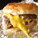02 Five Guys Cheeseburger with mushrooms 150x150 Five Guys Burger All The Way