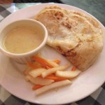 04 Roti Canai indian pancake with curry - Bali Nusa Indonesian