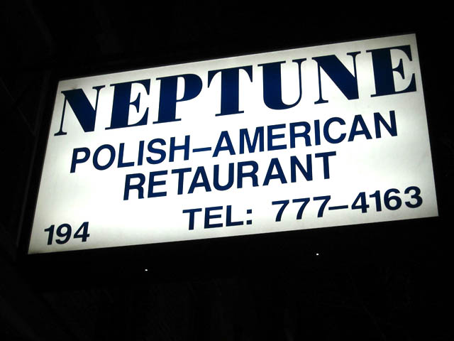 01 Neptune Polish-American Restaurant