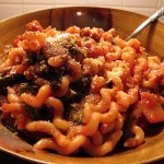 04 Fusilli with Sausage and Broccoli Rabe 150x150 Jessica will cook you pasta!