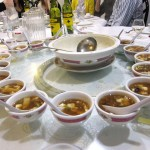 04 Perfect servings hot and sour soup 150x150 Carolyns b day dinner @ South China Garden (aka Cantoon Garden)