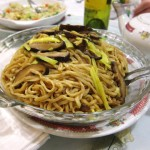 08 Lo Mein with Mushrooms - Cantoon Garden